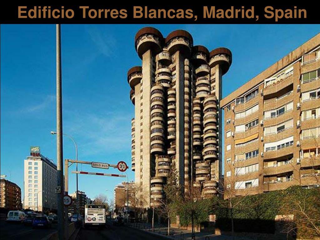 Edificio Torres Blancas, Madrid, Spain