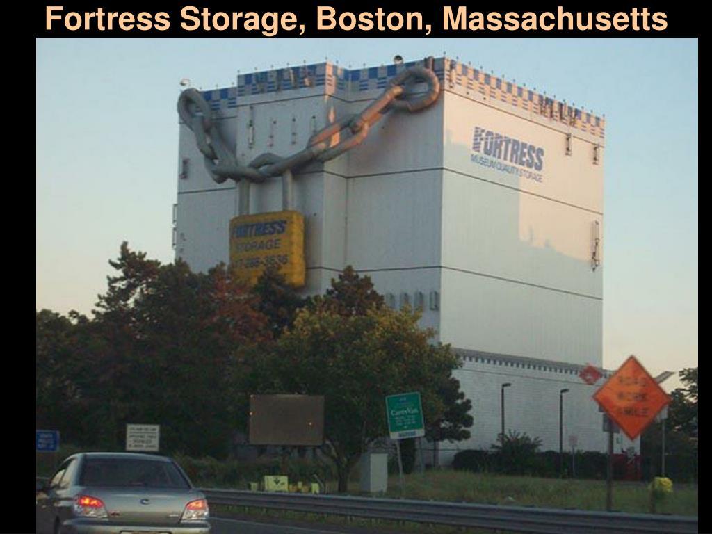 Fortress Storage, Boston, Massachusetts