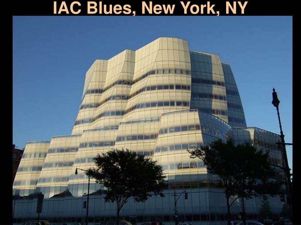 IAC Blues, New York, NY