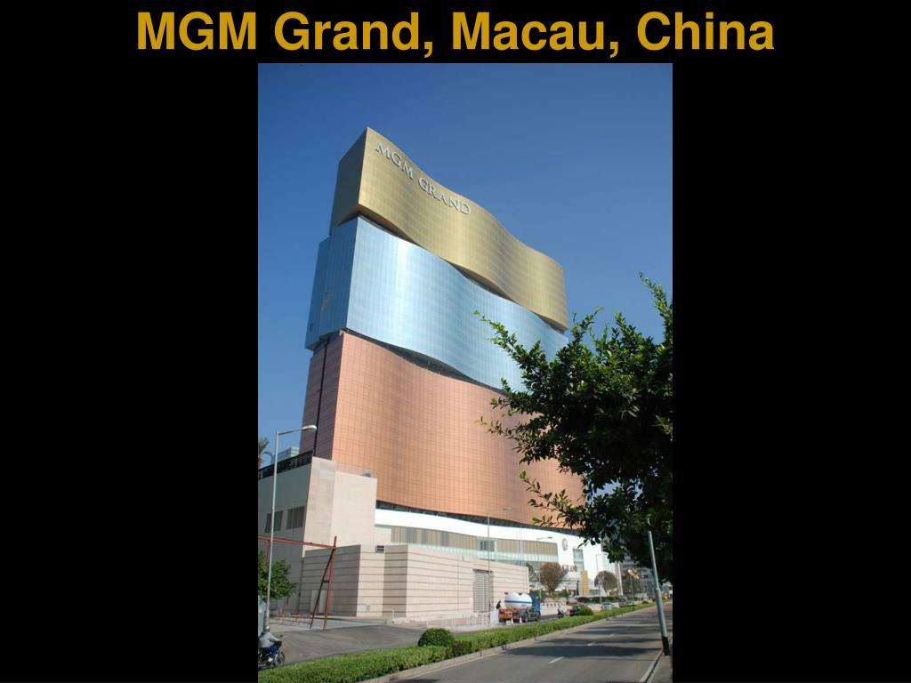 MGM Grand, Macau, China