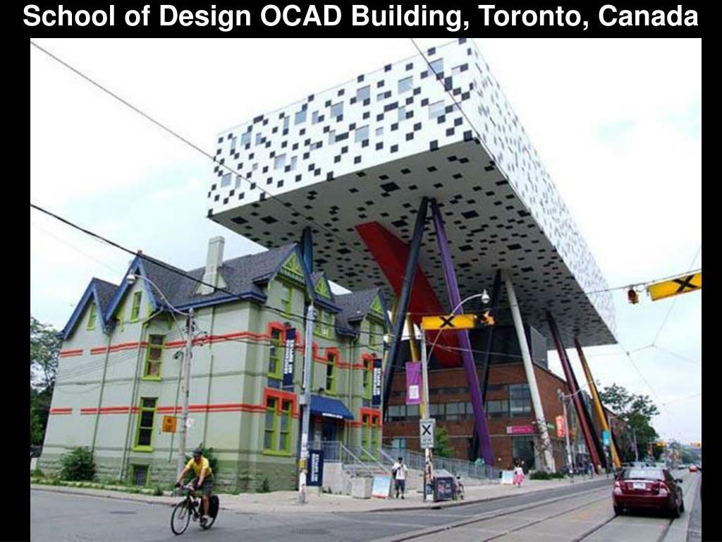 School of Design OCAD Building, Toronto, Canada