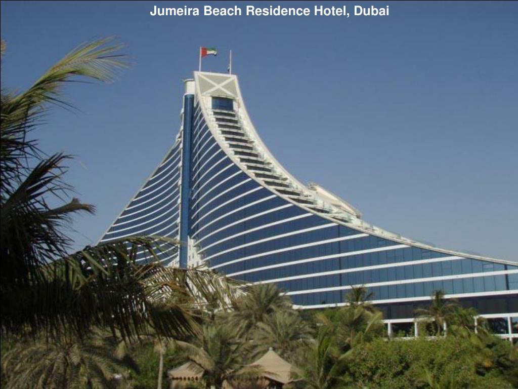 Jumeira Beach Residence Hotel, Dubai