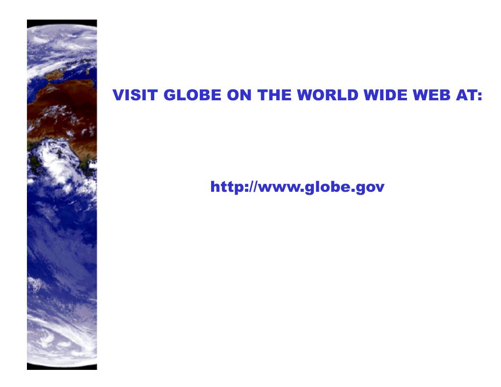 VISIT GLOBE ON THE WORLD WIDE WEB AT: