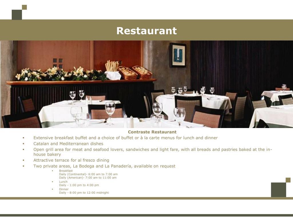 Contraste Restaurant