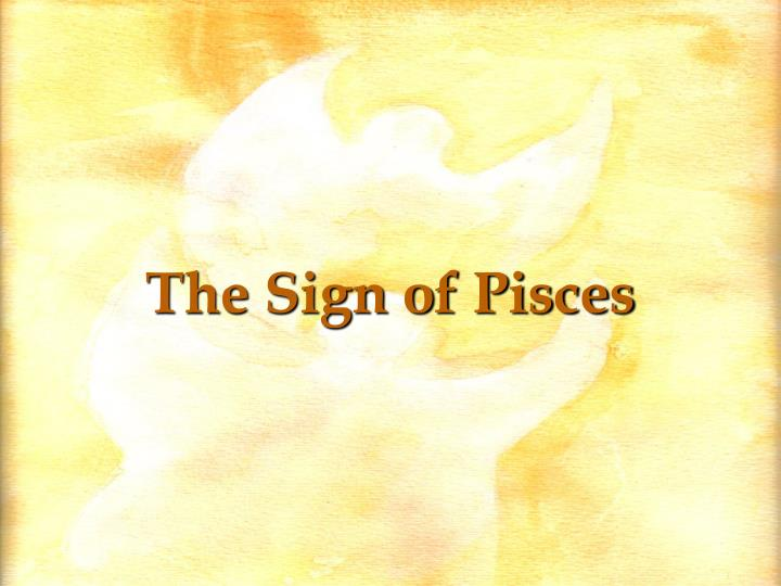 The Sign of Pisces