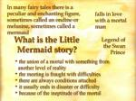 what is the little mermaid story