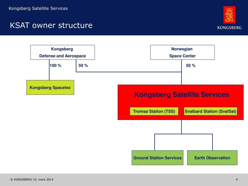 KSAT owner structure