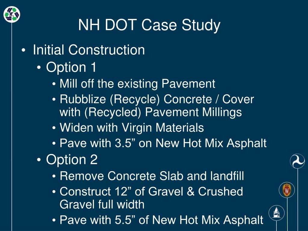 NH DOT Case Study