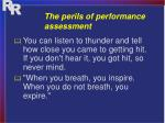 the perils of performance assessment3
