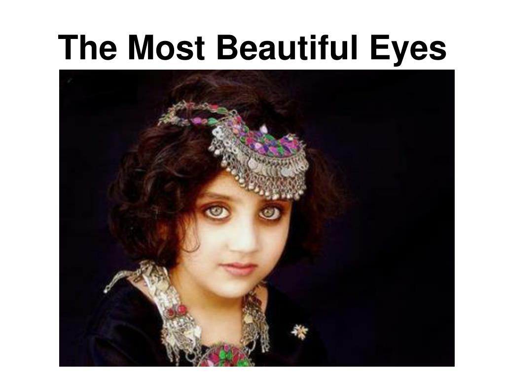 The Most Beautiful Eyes