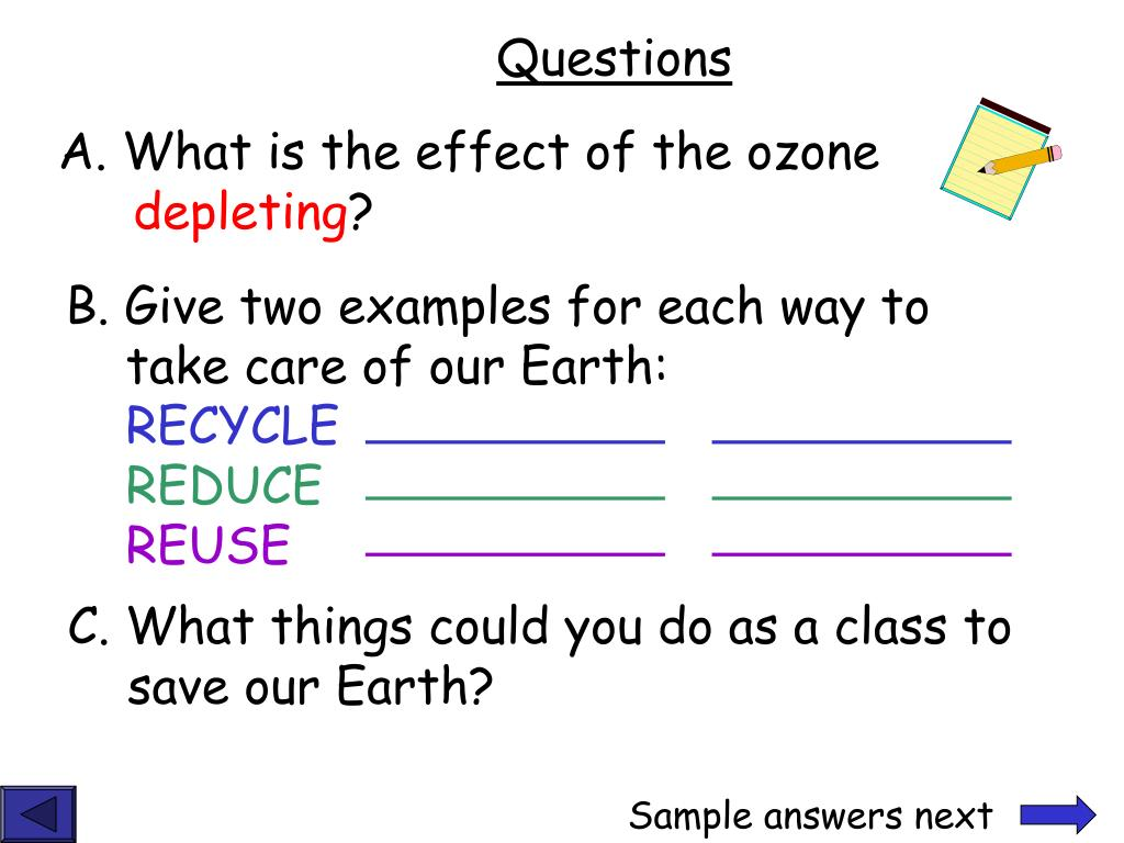 A. What is the effect of the ozone