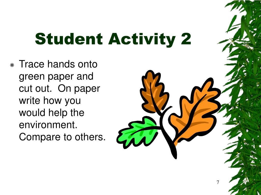 Student Activity 2