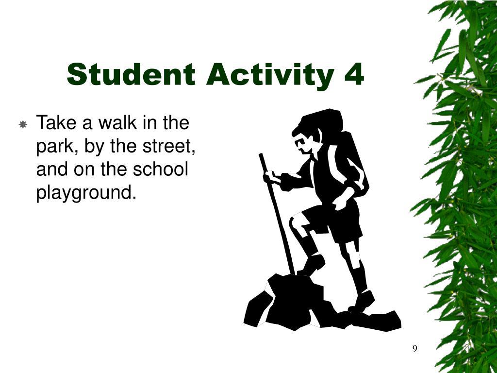 Student Activity 4