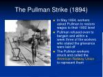 the pullman strike 18941
