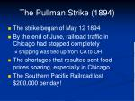 the pullman strike 18942