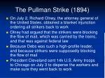 the pullman strike 18943