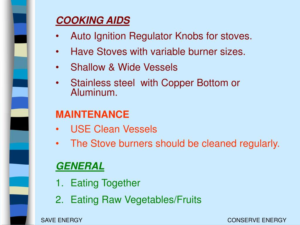 COOKING AIDS