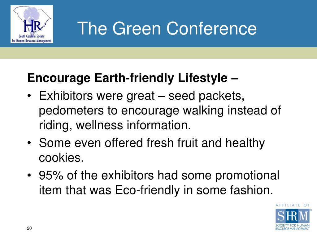 The Green Conference