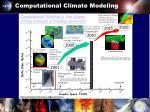 computational climate modeling