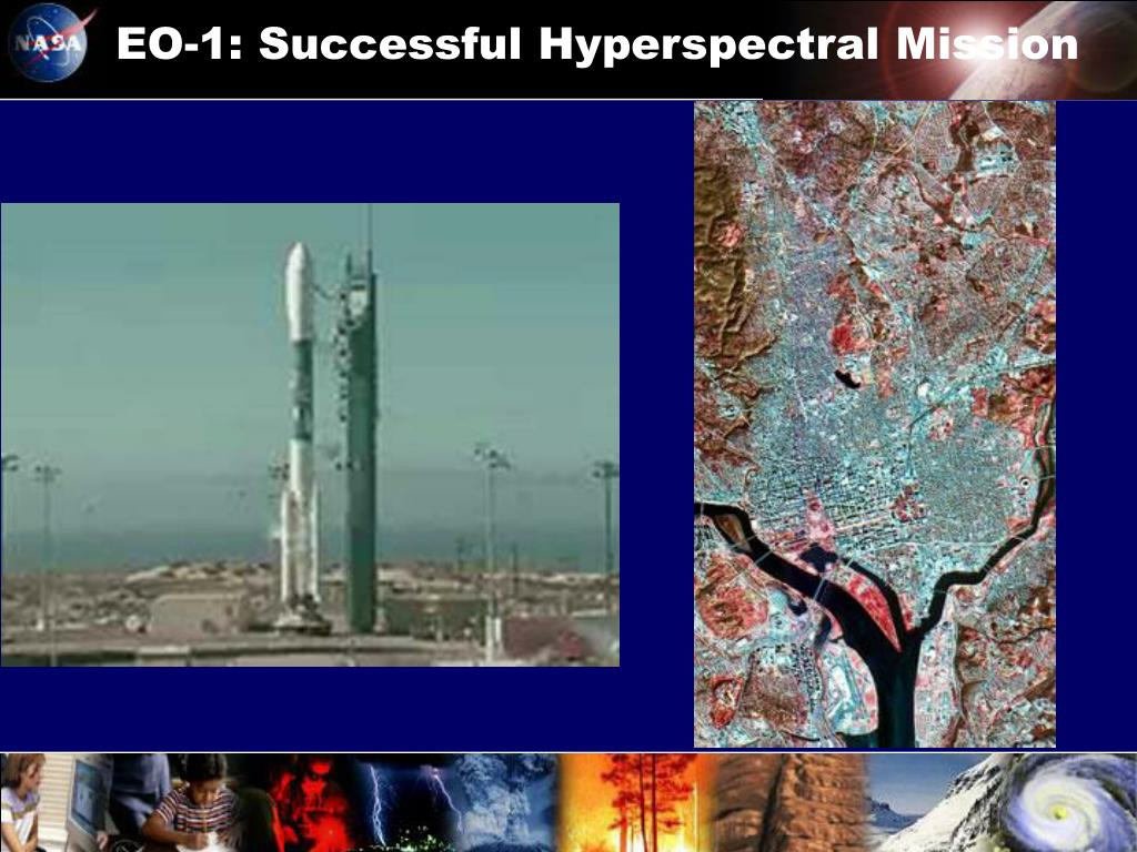 EO-1: Successful Hyperspectral Mission