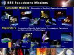 ese spaceborne missions