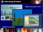 informing aviation