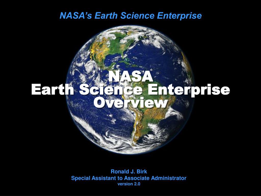nasa earth science enterprise overview