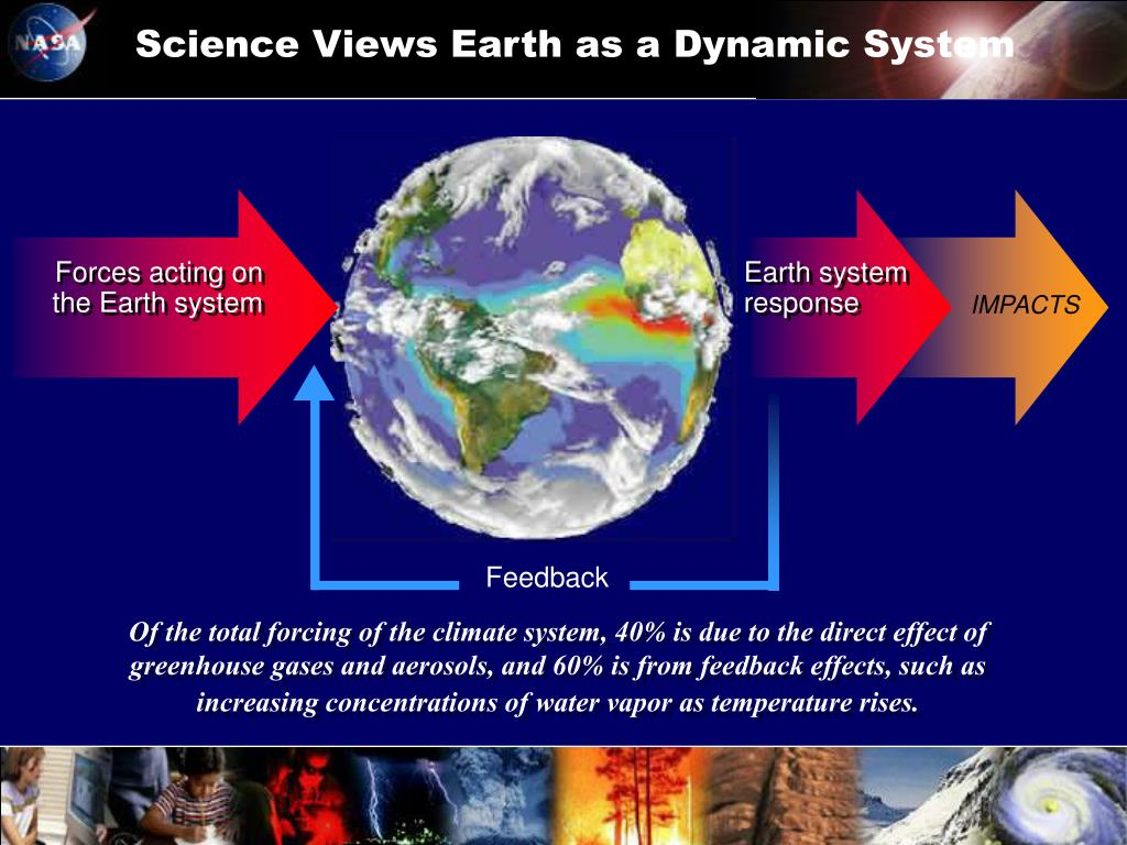Science Views Earth as a Dynamic System