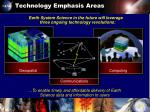 technology emphasis areas