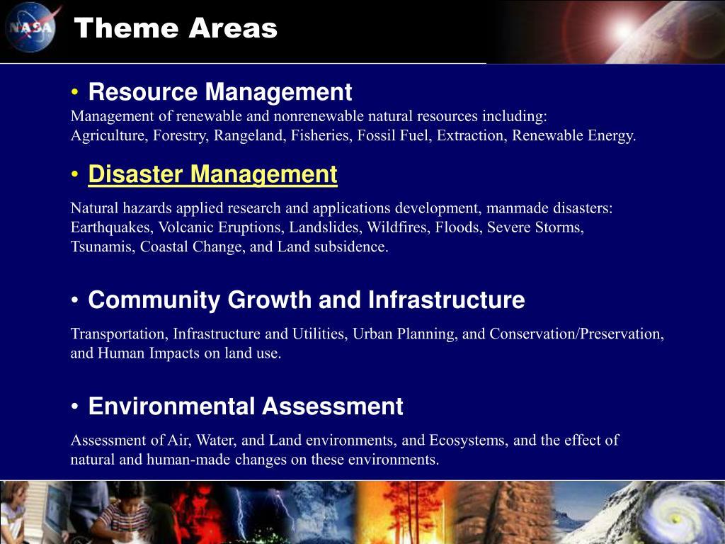 Theme Areas