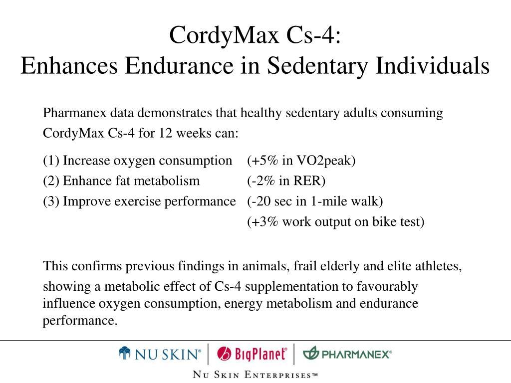 CordyMax Cs-4:
