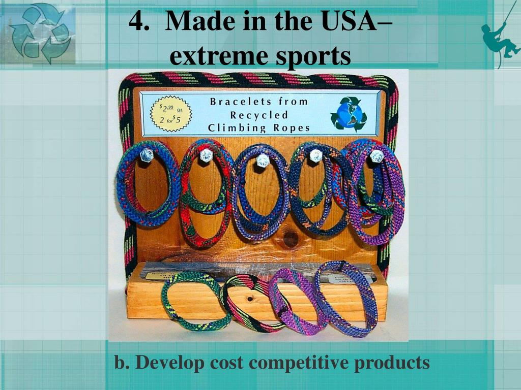 4.  Made in the USA–