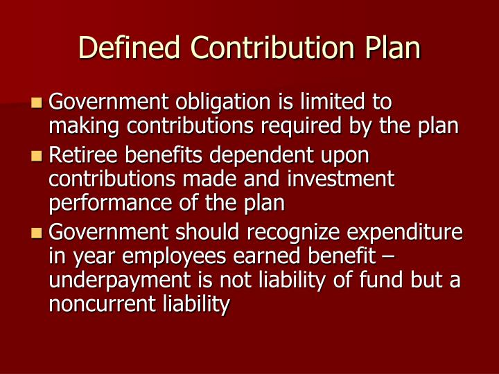 Pension plan |Contribution Plan