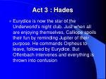 act 3 hades