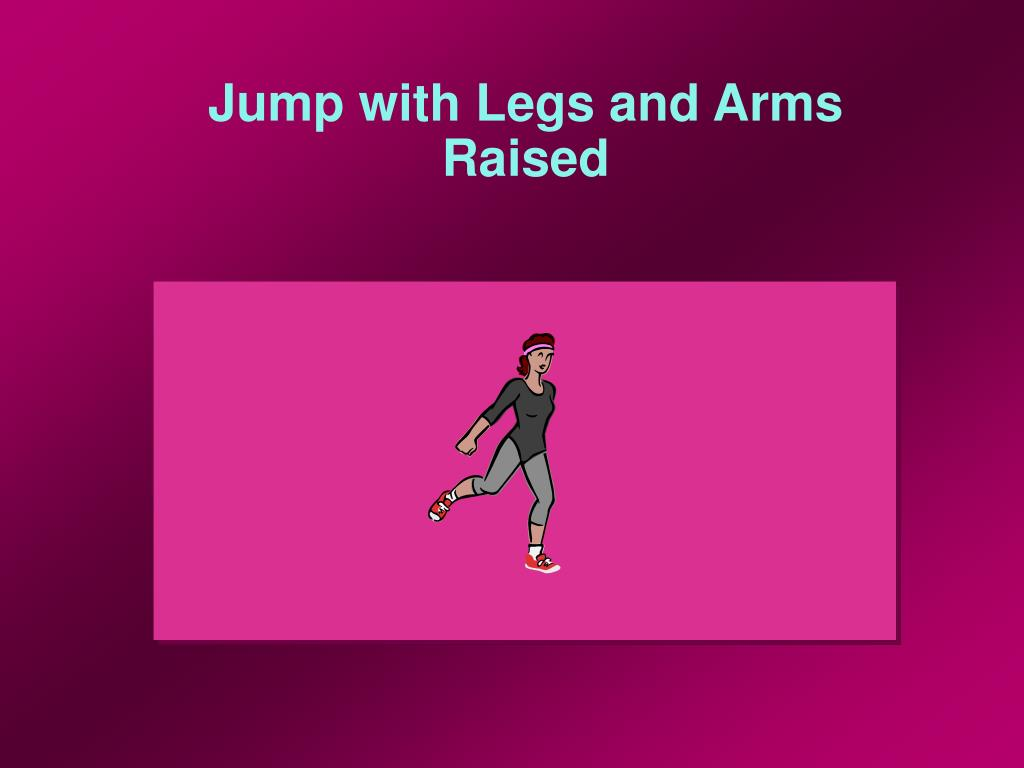 Jump with Legs and Arms Raised