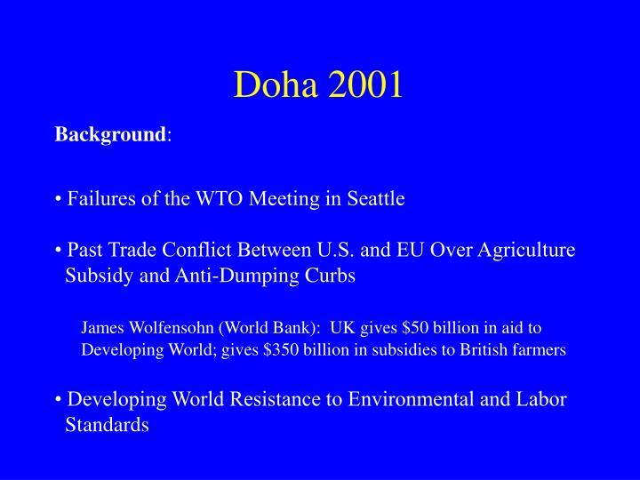 Doha 2001
