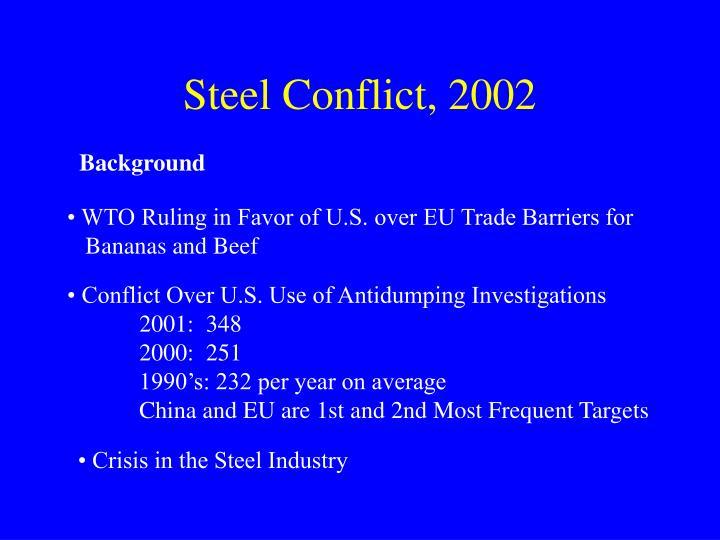 Steel Conflict, 2002