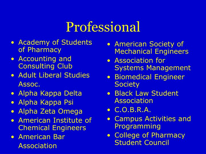 Academy of Students of Pharmacy