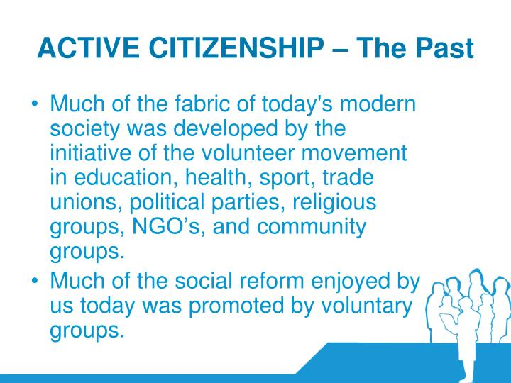 ACTIVE CITIZENSHIP – The Past