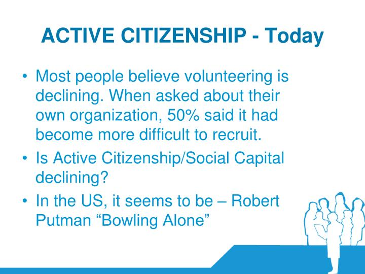 ACTIVE CITIZENSHIP - Today