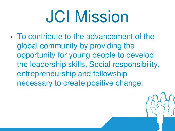 JCI Mission