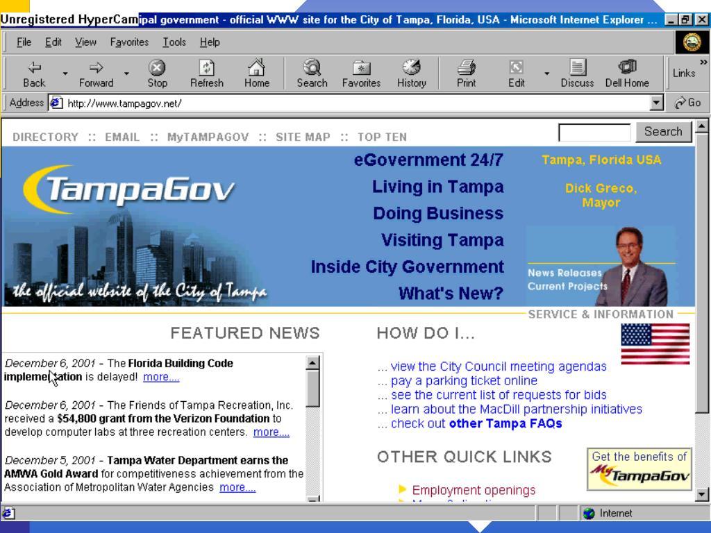 Web Site News