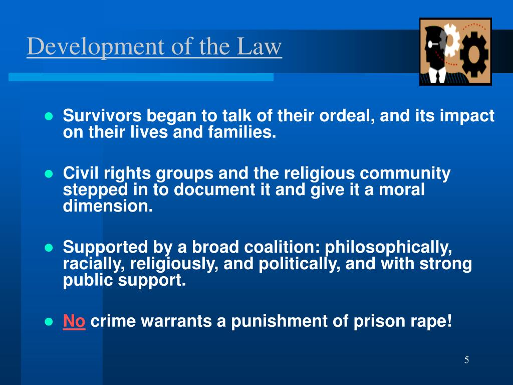 Development of the Law