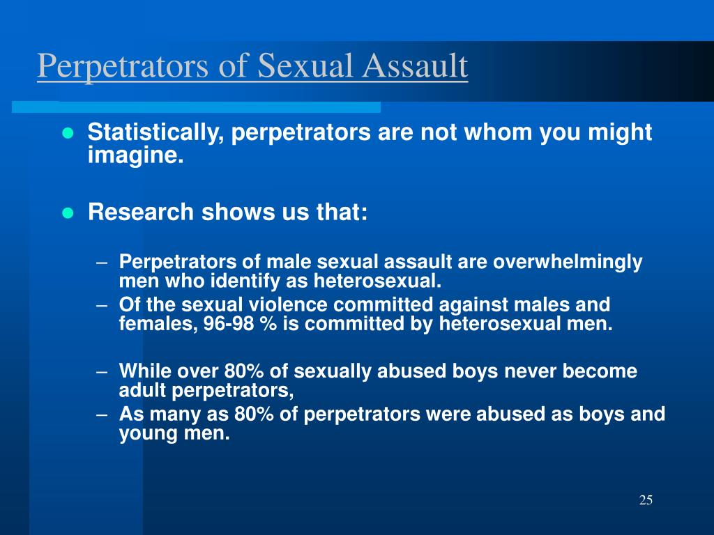 Perpetrators of Sexual Assault