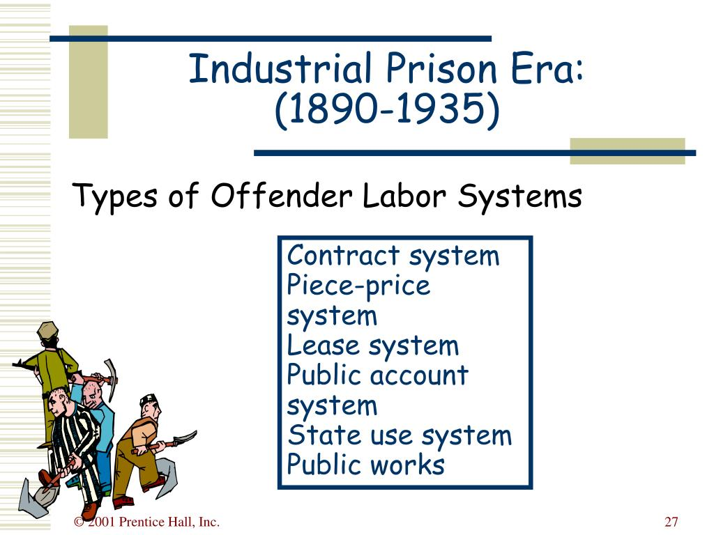 Types of Offender Labor Systems