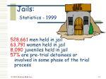jails statistics 1999