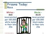 prisons today race