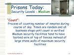 prisons today security levels medium57