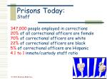prisons today staff