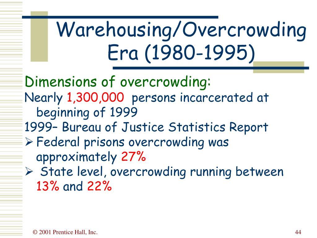 Warehousing/Overcrowding Era (1980-1995)